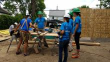 The Improve Group volunteers for Habitat for Humanity Build