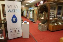 Image of the We are Water Exhibit