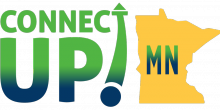 Logo for the ConnectUp! MN summit