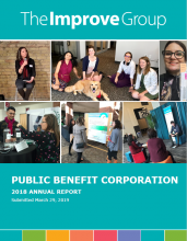 The Coverpage for our 2018 Annual Report