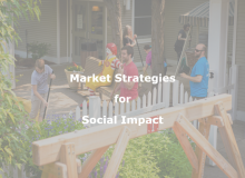 Market Strategies for Social Impact