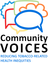 Community Voices: reducing tobacco related health inequities